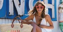 """[ FASHION ] Celeb Style / """"If you can't be better than your competition, just dress better."""" -Anna Wintour   Visit sandsunandmessybuns.com for more celebrity fashion inspo from Olivia Palermo, Gigi Hadid, Bella Hadid, Miranda Kerr, Rosie Huntington-Whiteley, and more!"""