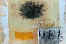 My encaustic collage / by Marty Ittner