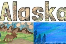 Nate's Alaska Adventure Notebook / This is how teacher's kids vacation...with lesson plans and journals / by Alisha Bothe-Nicolello