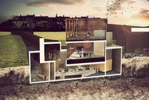 UWE architecture inspiration / A selection of architecture, planning and design work created by UWE Bristol students.