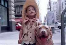 Pit Bulls & Kiddos / Pit bulls and all the kids they love. / by Stubby Dog