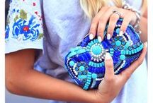 Beaded Clutches / Amazing bags that feature beads, chain, and other embellishments