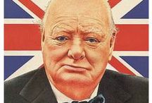 """Sir Winston Churchill / 2015 marks 50 years since Sir Winston Churchill's death. Churchill is often described as the """"greatest living Englishman"""". A man of many talents, he is known for being a soldier, politican, writer and an artist."""