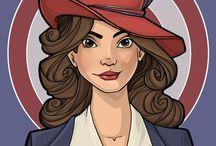 Agent Carter & Captain America