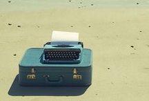 typewriters, suitcases & cameras