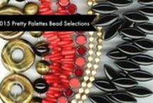 Pretty Palettes : : May 2015 / Play along with Erin Prais-Hintz as she inspires you and jump starts your beading with Pretty Palettes each month!