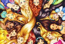 BD Princess Party / Anna, Ariel, Aurora, Belle, Cinderella, Elena, Elsa, Jasmine, Leia, Merida, Moana, Mulan, Pocahontas, Rapunzel, Sofia, Snow White, Tiana, & Tinkerbell