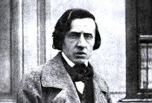Fryderyk Franciszek Chopin / Fryderyk Franciszek Chopin (ur. 22 lutego lub 1 marca 1810↓ w Żelazowej Woli, zm. 17 października 1849 w Paryżu) – polski kompozytor i pianista. Od września 1831 roku mieszkał we Francji.