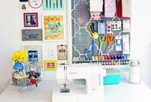 CREATIVE SPACES / craft rooms and offices that make me want to make stuff