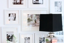 PRETTY WALL THINGS / Frames, gallery walls, shelves and all that good stuff