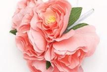 crepe paper flowers / by Chiara Milott