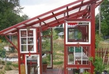 Garden Structures / Inspiration and ideas for structures, sheds, greenhouses, cold frames and more...