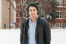 UAlberta Style / The best thing about enjoying all 4 seasons is that you can always switch up your style! The UAlberta community is full of interesting people who express their personality through their great style.