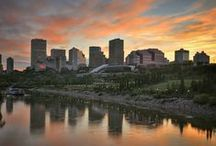 Edmonton, Alberta, Canada / Edmonton is home to around 1 million people. It's the capital city of the province of Alberta, located in Western Canada...and home of UAlberta! It's a great place to live, study, work, and explore!