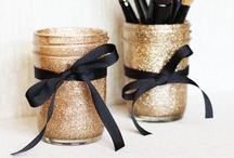 Mason Jars / Mason jar are so versatile for measuring, storing, and packaging!