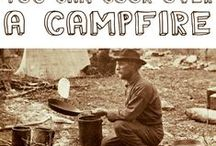 Lets go Camping! / camping, with a few survivor skills.... / by Yvonne Murray