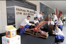Our F1 Cars / Here are our visual treats for F1 as Royal Plaza on Scotts celebrates the Formula1 Grand Prix season while raising funds for the Community Chest.  / by Royal Plaza On Scotts