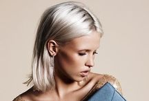 HAIR Ice blonde / by Heather Krohn