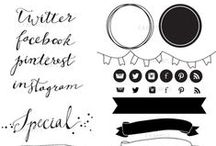 FONTS, PRINTABLES, & DIGITAL HELP / free printables and lots of free pretty fonts