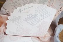 Sweet Blush Wedding / All things romantic, soft and delicate make for sheer elegance in this sweet blush wedding. All paper accessories designed and created by www.paperstudio.ca.