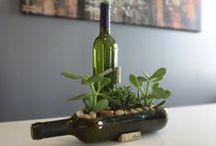 W I N E   N O T / Creations made from wine glasses or things to try. / by Katie Shifferly