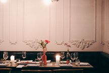 To Dine / Cafe and restaurant architecture, design and atmosphere. / by Julia Rose