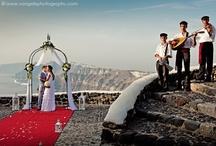 Wedding Decor by ''Wedding Wish'' (Santorini Flowers Agrokipio) / Real weddings in Santorini Flower Creations and Decoration