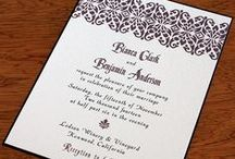 {invitation design} bianca / by Invitations by Ajalon