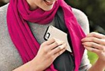 SHOLDIT®, scarf with pocket / SHOLDIT®, the scarf with pocket, is the perfect travel and fashion accessory. The pocket can store your valuables while keeping your hands free to explore!  / by SHOLDIT®, scarf with pocket