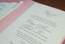 {invitation design} classic monogram / by Invitations by Ajalon