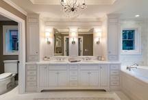 Client - Pflieger bathroom / by Sally Hammond@ Sally J. Designs