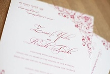{real wedding} zena and ronald / by Invitations by Ajalon