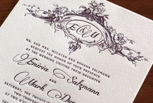 {invitation design} emiria / by Invitations by Ajalon