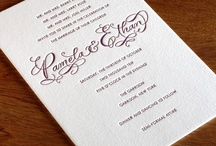 {invitation design} emily / by Invitations by Ajalon