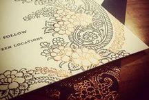 {invitation design} gajal