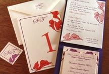 {invitation design} lily
