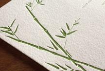 {invitation design} lucky bamboo