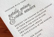 {invitation design} natalie