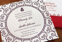{real wedding} brandy and sudhir / by Invitations by Ajalon