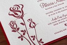 {invitation design} rose