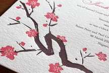 {invitation design} sakura