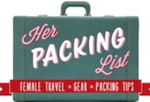 Guest Pinner: Her Packing List  / Brooke Schoenman is the founder and editor of Her Packing List – a resource on packing and gear for female travelers. Brooke is a seasoned traveler, having acquired stamps in her passport from destinations such as Kyrgyzstan, Ukraine, Russia, Malaysia, and Guatemala to name a few. She blogs and writes for a living, and you can follow the Her Packing List related side of her life on Twitter, Facebook and Pinterest.  / by eBags