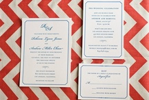 {real wedding} rebecca and andrew / by Invitations by Ajalon