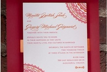 {real wedding} nimita and greg / by Invitations by Ajalon