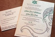{invitation design} baraat / by Invitations by Ajalon