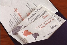 {invitation design} autumn / by Invitations by Ajalon