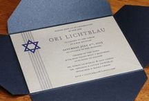 {invitation design} david / by Invitations by Ajalon