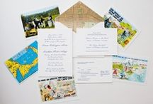 {real wedding} emma and jonathan / by Invitations by Ajalon
