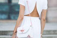 Bright Whites / The White Accesories Make all The Difference http://bit.ly/1b1zHjf / by eBags