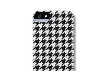 Houndstooth phone case / iPhone 5 Cases from The Dairy www.thedairy.com.au #TheDairy